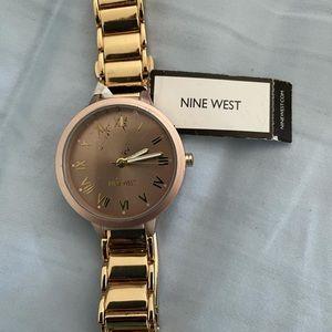 nine west watch 2 pieces